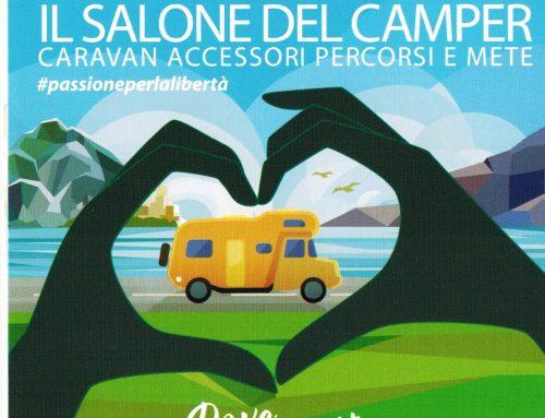 Presenti al Salone del camper Parma dall 9 al 17 settembre 2017