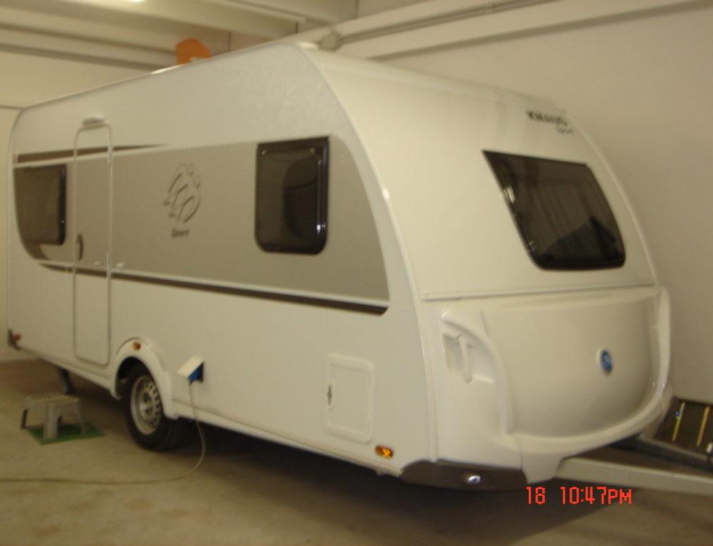 Caravan KNAUS SPORT 450 FU NUOVA – modello 2018 in arrivo
